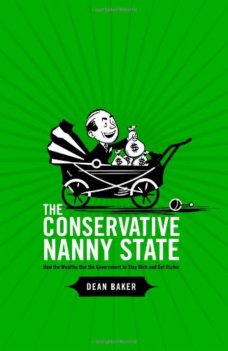 Large book cover: The Conservative Nanny State