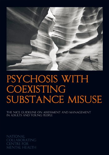 Large book cover: Psychosis with Coexisting Substance Misuse