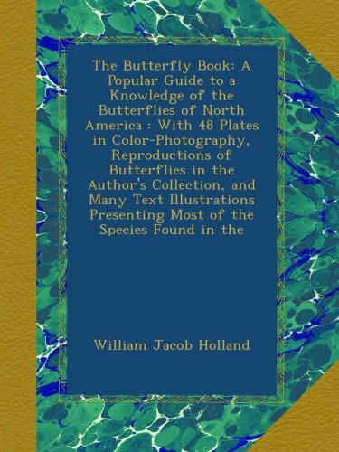 Large book cover: The Butterfly Book