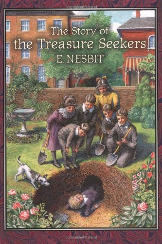 Large book cover: The Story of the Treasure Seekers