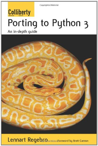 Large book cover: Porting to Python 3: An in-depth guide