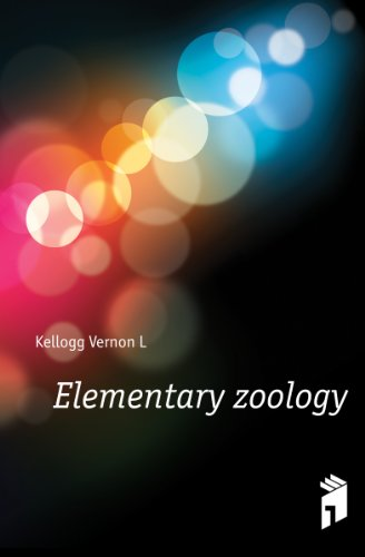 Large book cover: Elementary Zoology