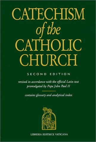 Large book cover: Catechism of the Catholic Church
