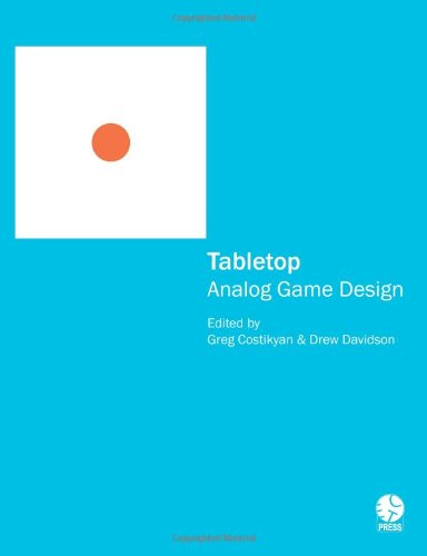 Large book cover: Tabletop: Analog Game Design