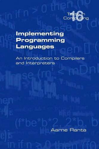 Large book cover: Implementing Programming Languages