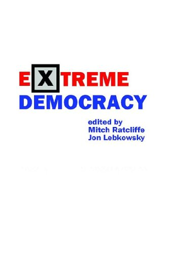 Large book cover: Extreme Democracy