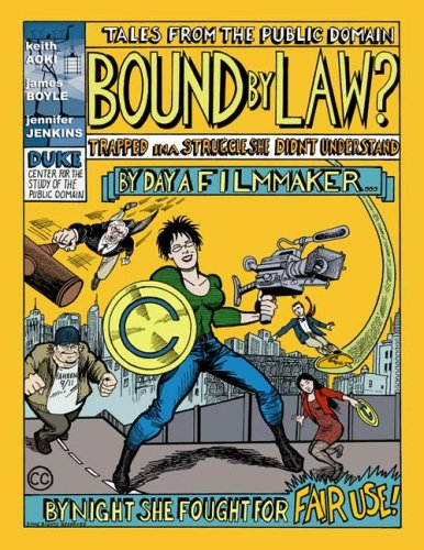 Large book cover: Bound By Law: Tales from the Public Domain