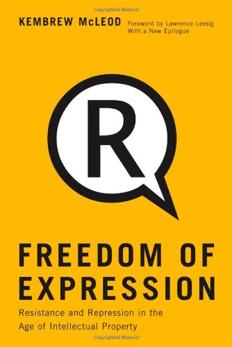 Large book cover: Freedom of Expression