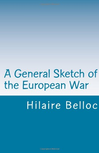 Large book cover: A General Sketch of the European War