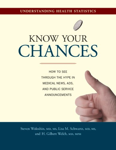 Large book cover: Know Your Chances: Understanding Health Statistics