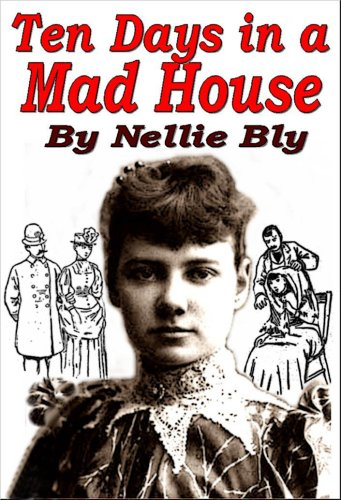 Large book cover: Ten Days in a Mad-House