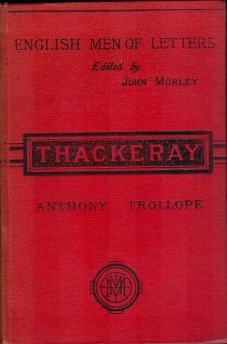 Large book cover: Thackeray
