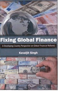 Large book cover: Fixing Global Finance