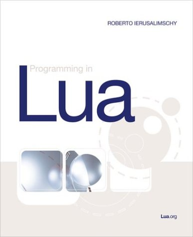 Large book cover: Programming in Lua