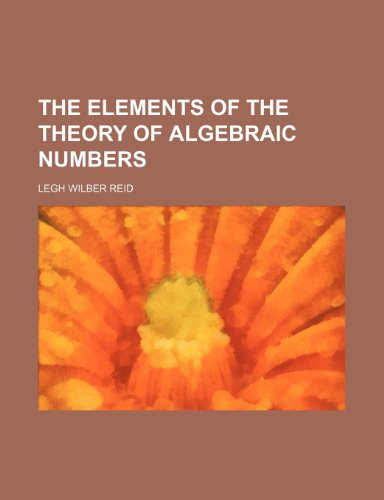 Large book cover: The Elements of the Theory of Algebraic Numbers