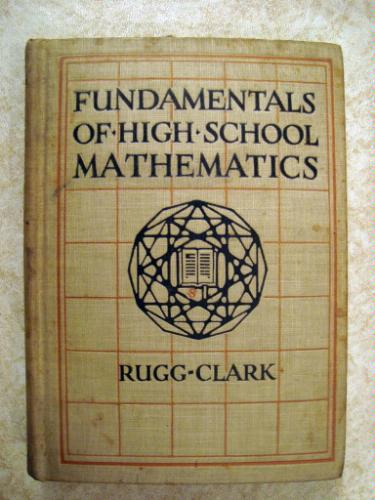 Large book cover: Fundamentals of High School Mathematics