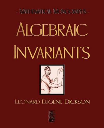 Large book cover: Algebraic Invariants