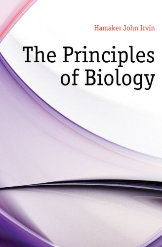 Large book cover: The Principles of Biology