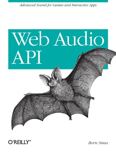 Large book cover: Web Audio API