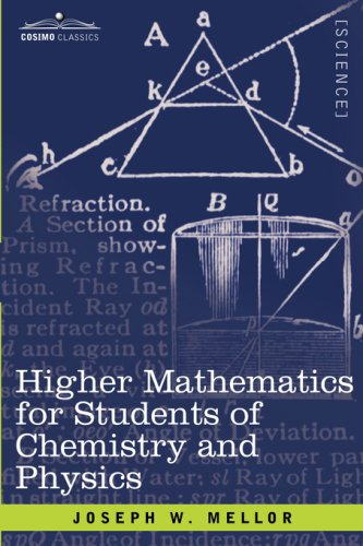 Large book cover: Higher Mathematics for Students of Chemistry and Physics