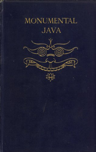Large book cover: Monumental Java