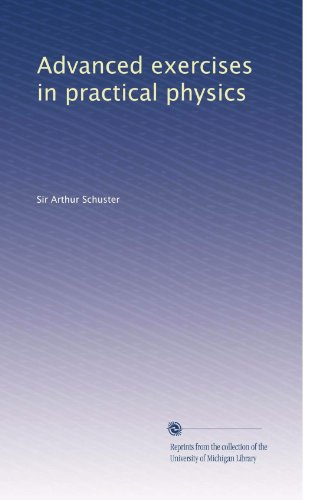 Large book cover: Advanced Exercises in Practical Physics