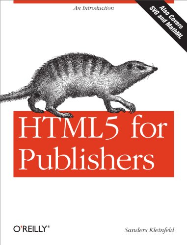 Large book cover: HTML5 for Publishers