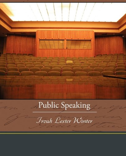 Large book cover: Public Speaking: Principles and Practice