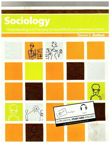 Large book cover: Sociology: Understanding and Changing the Social World