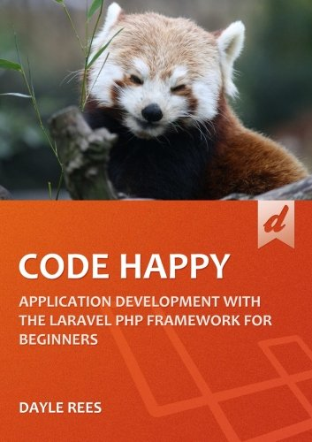 Large book cover: Code Happy