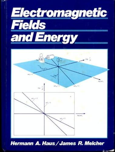 Large book cover: Electromagnetic Fields and Energy