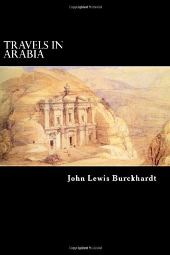 Large book cover: Travels in Arabia
