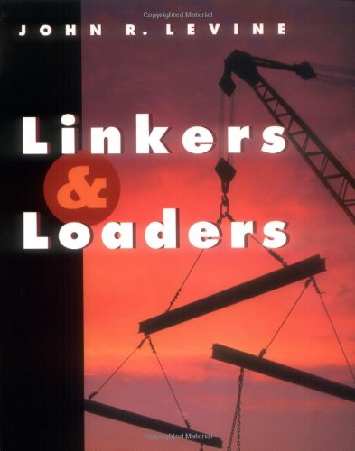 Large book cover: Linkers and Loaders