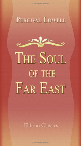 Large book cover: The Soul of the Far East