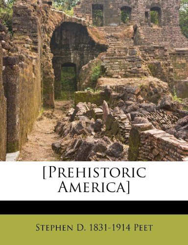 Large book cover: Prehistoric America