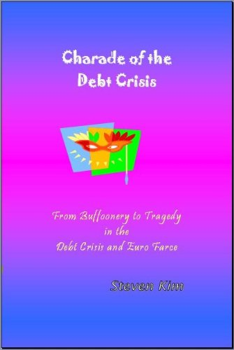 Large book cover: Charade of the Debt Crisis