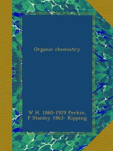 Large book cover: Organic Chemistry