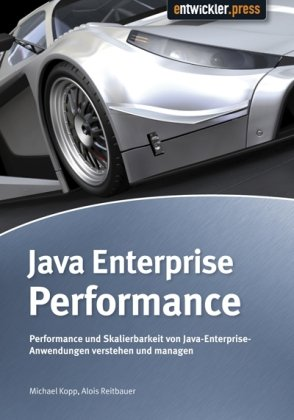 Large book cover: Java Enterprise Performance