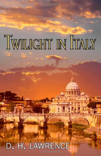 Large book cover: Twilight in Italy