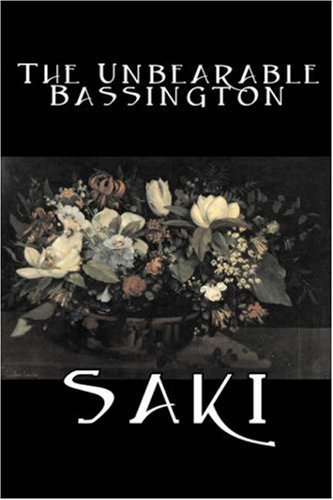 Large book cover: The Unbearable Bassington