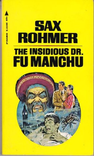 Large book cover: The Insidious Dr. Fu Manchu