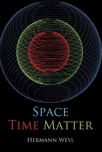 Large book cover: Space - Time - Matter