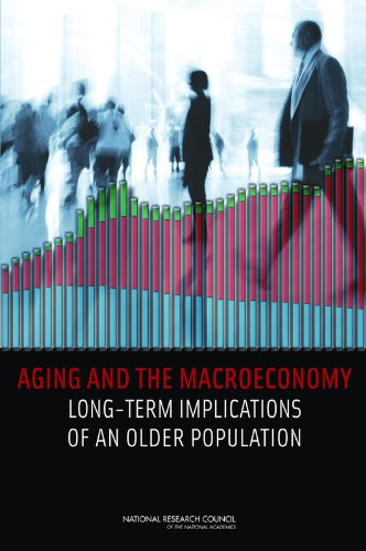 Large book cover: Aging and the Macroeconomy