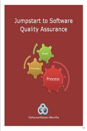 Large book cover: Jumpstart to Software Quality Assurance