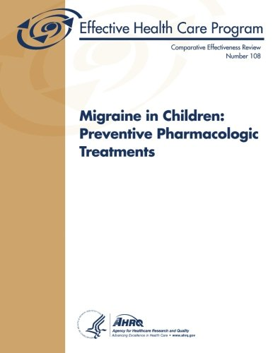 Large book cover: Migraine in Children: Preventive Pharmacologic Treatments