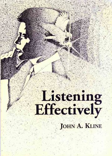 Large book cover: Listening Effectively