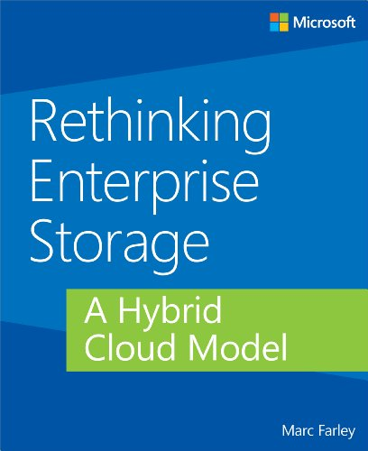Large book cover: Rethinking Enterprise Storage: A Hybrid Cloud Model