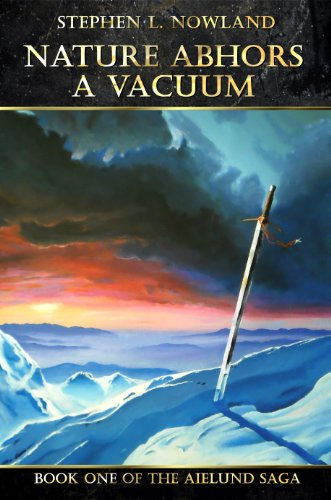Large book cover: Nature Abhors a Vacuum