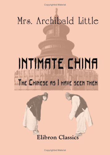 Large book cover: Intimate China