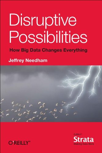 Large book cover: Disruptive Possibilities: How Big Data Changes Everything